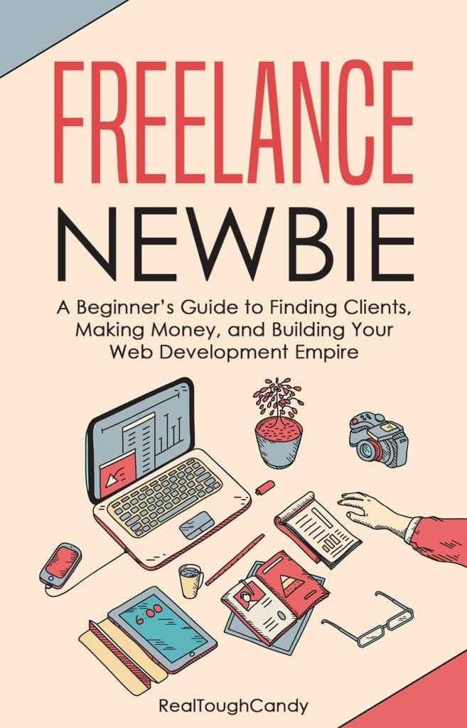 Freelance Newbie Book Cover by RealToughCandy