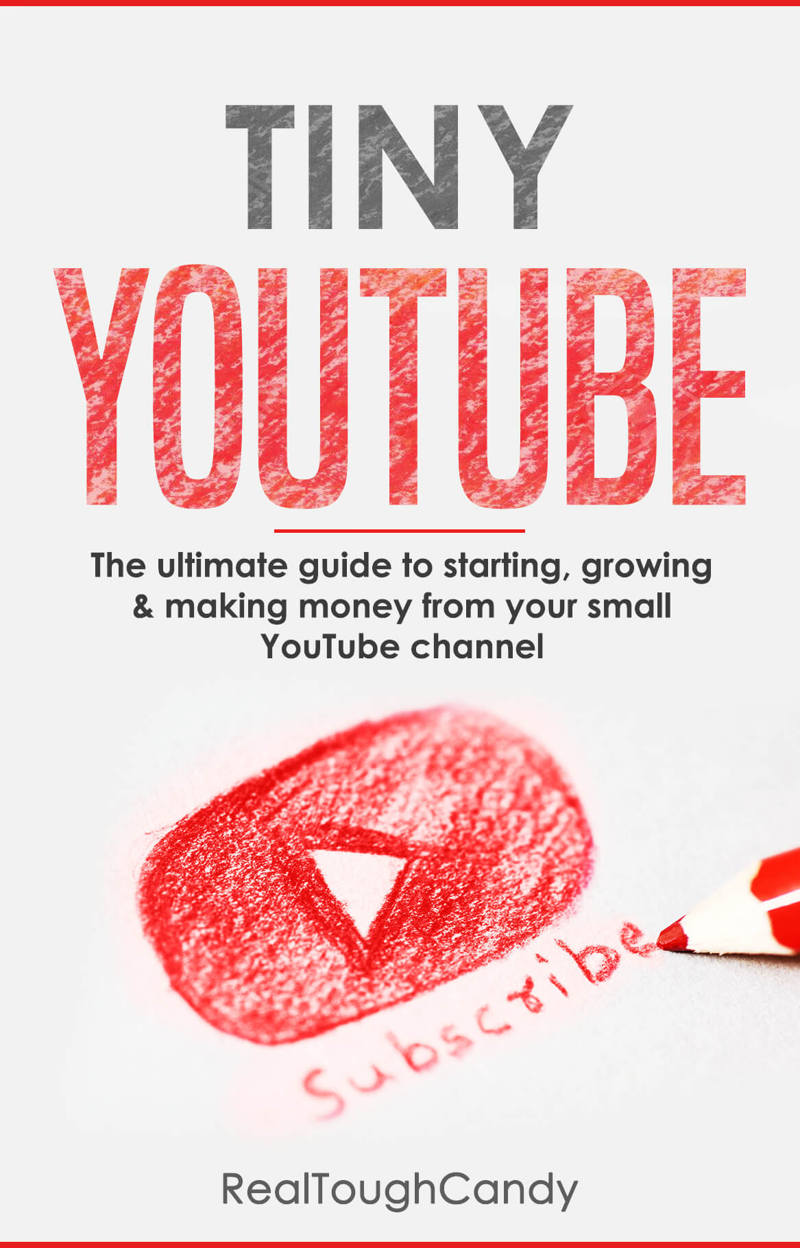 Tiny YouTube book cover by RealToughCandy