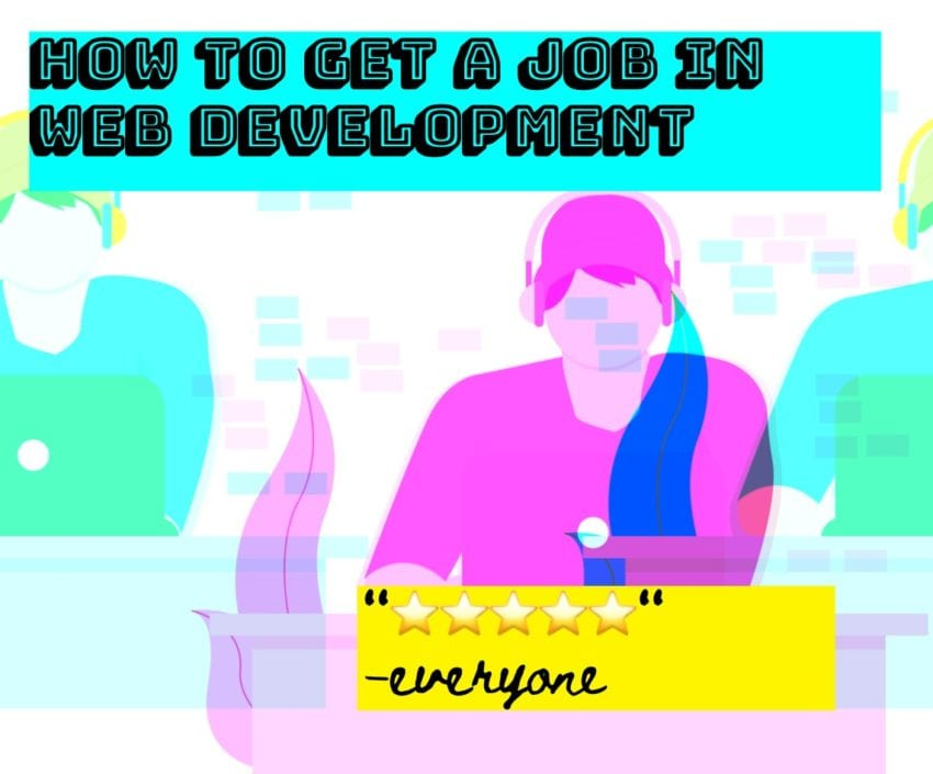 Get a Web Developer Job artwork guy on laptop.jpg