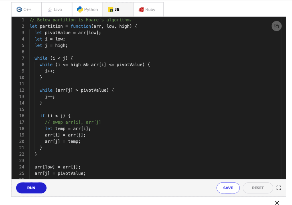 coderust hacking the coding interview javascript console