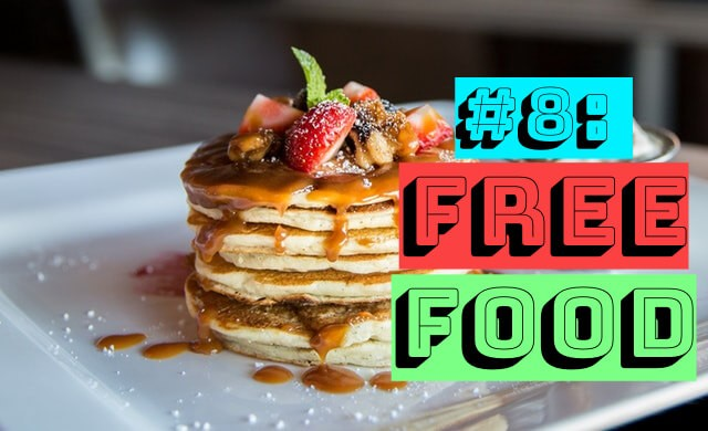 should i learn to code reason number eight free food with pancake
