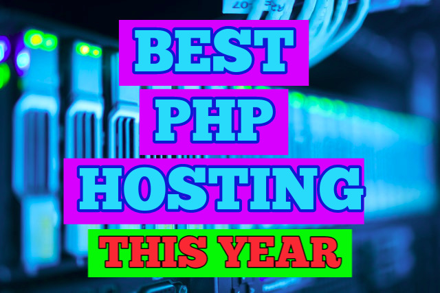bandwidth closeup with Best PHP Hosting This Year text