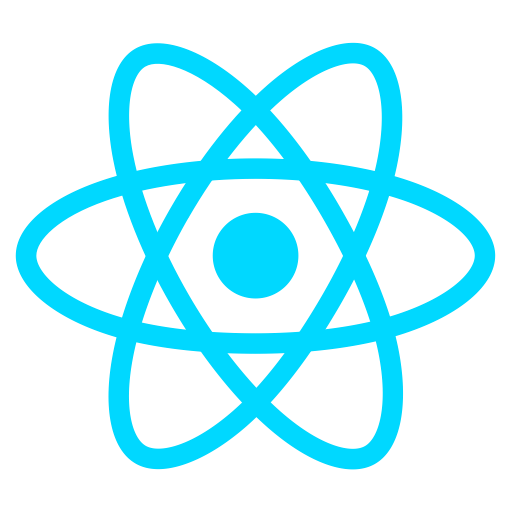 react logo for best online react course