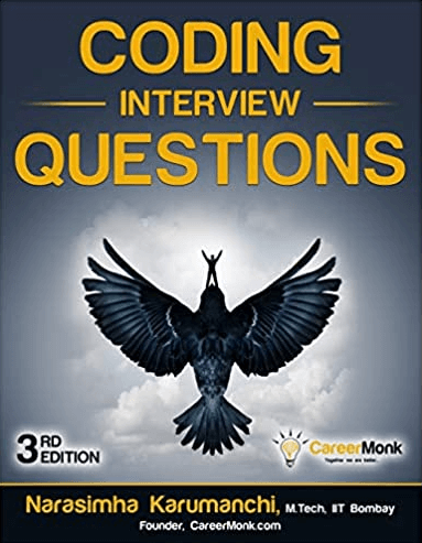 FANG interview prep book Coding Interview Questions with crow