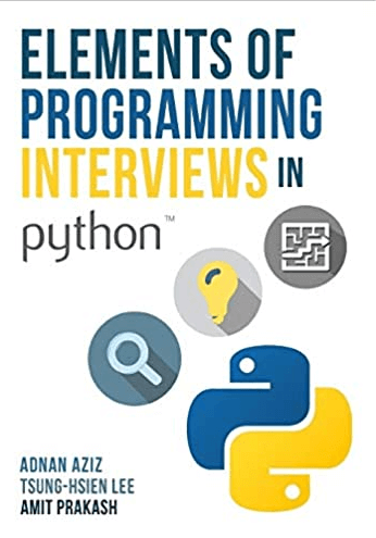 Elements of Programming Interviews in Python with Python logo