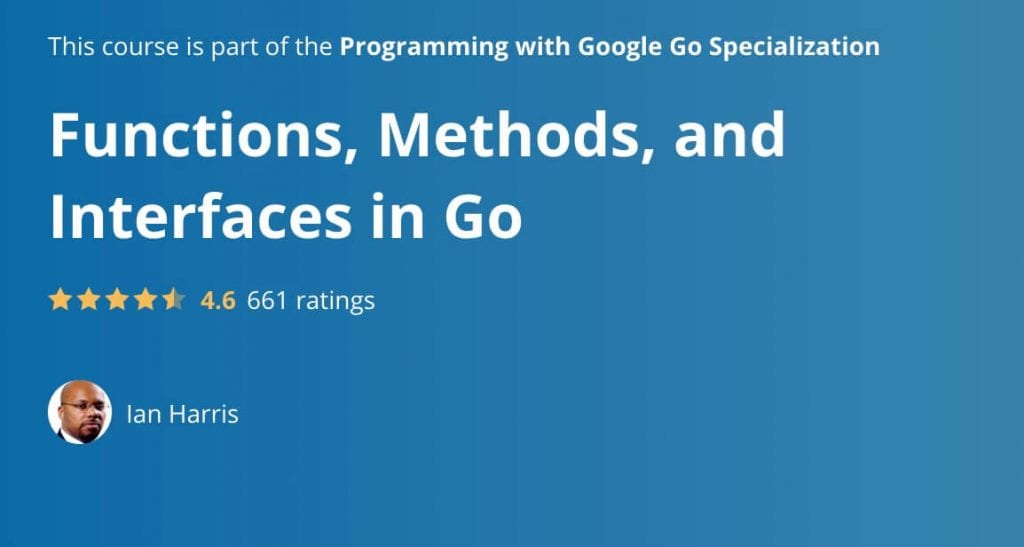 functions methods and interfaces in go landing page