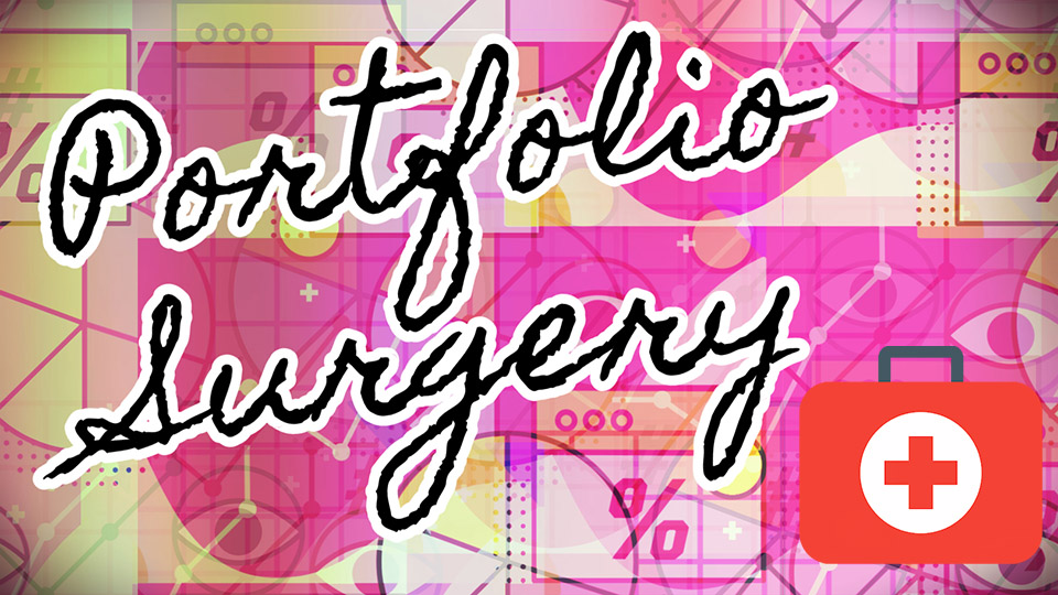 Artwork for Portfolio Surgery video course