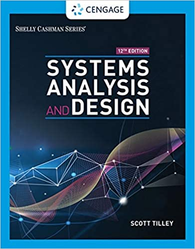 Systems Analysis and Design book cover with floating graphed points