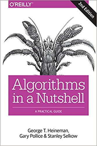 best algorithms books Algorithms in a Nutshell book cover with crab