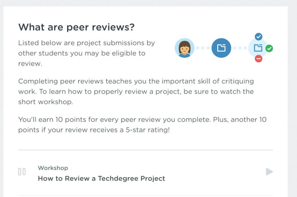 Treehouse PHP Techdegree peer review directions