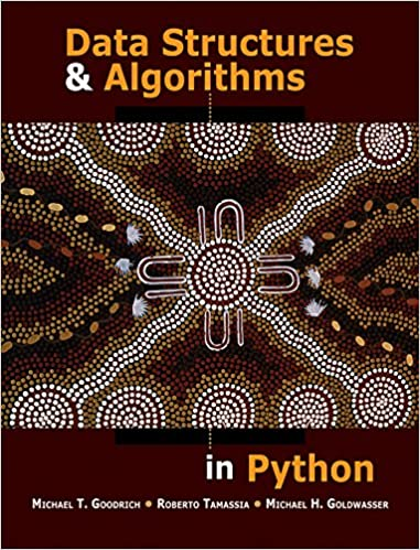 best algorithms books Data Structures & Algorithms in Python book cover