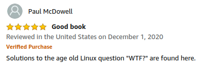 5-star review of Linux Bible