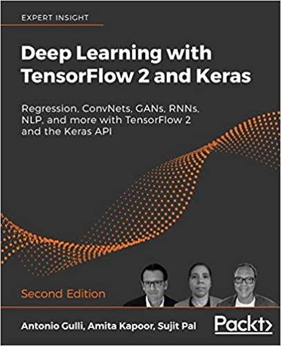deep learning with tensorflow 2 and keras book cover