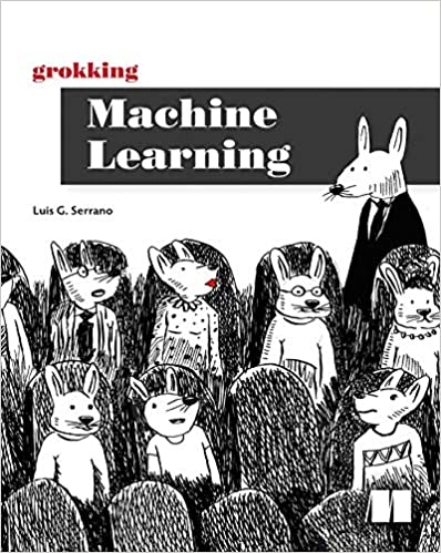 grokking machine learning cover with rabbits sitting in seats