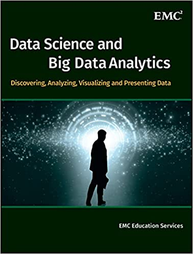 Data Science and Big Data Analytics book cover with man standing in front of solar system