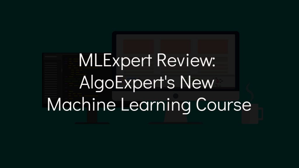 mlexpert review with faded black background