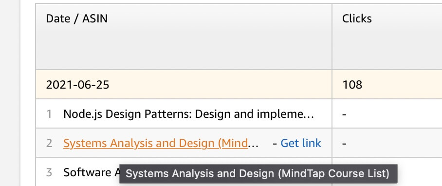 Systems Analysis and Design Scott Tilley Amazon purchase chart