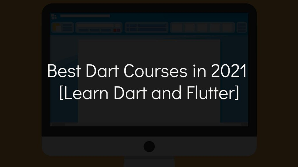 best dart courses with faded black background