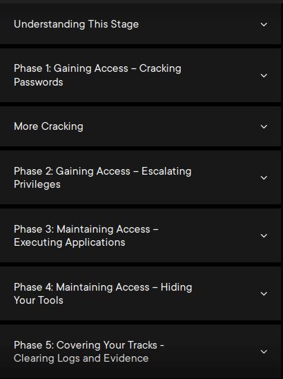 pluralsight course outline best hacking courses