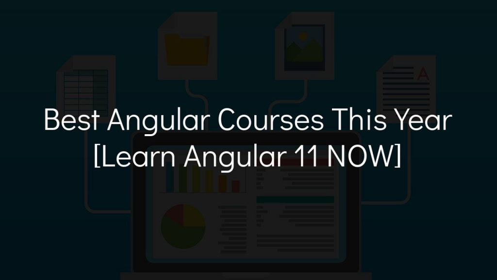 best angular courses this year with faded black background