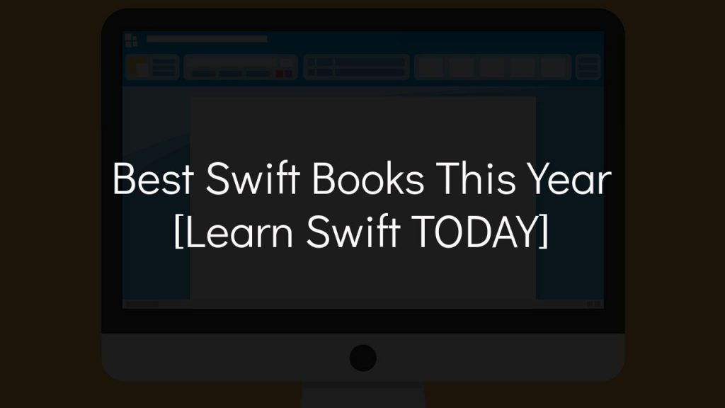 best swift books this year [learn swift today]